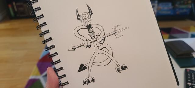 Bendy Devil